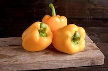 Paprika geel, klasse 1, per stuk