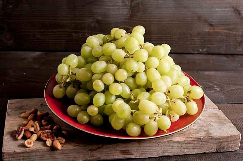 Druiven. klasse 1,  wit per doos  a 5kg