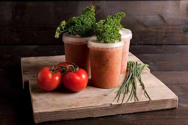Tomaten basilicum soep 1 liter