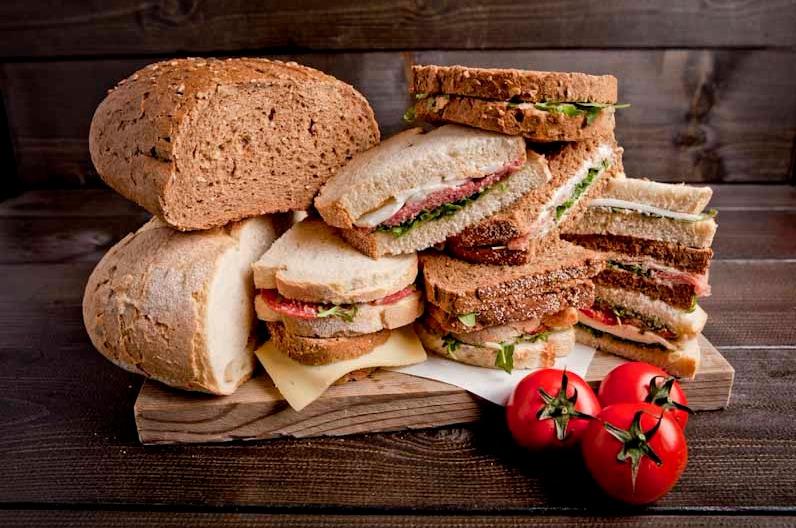 Sandwichbox vlees en vega specials