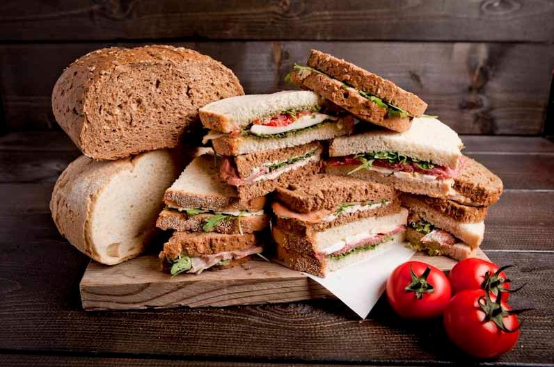 Sandwichbox vlees, vega en vis specials