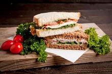 Extra sandwich vlees en vega special