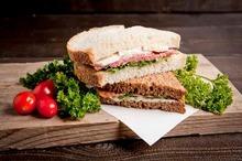 Extra sandwich vlees, vega en vis special