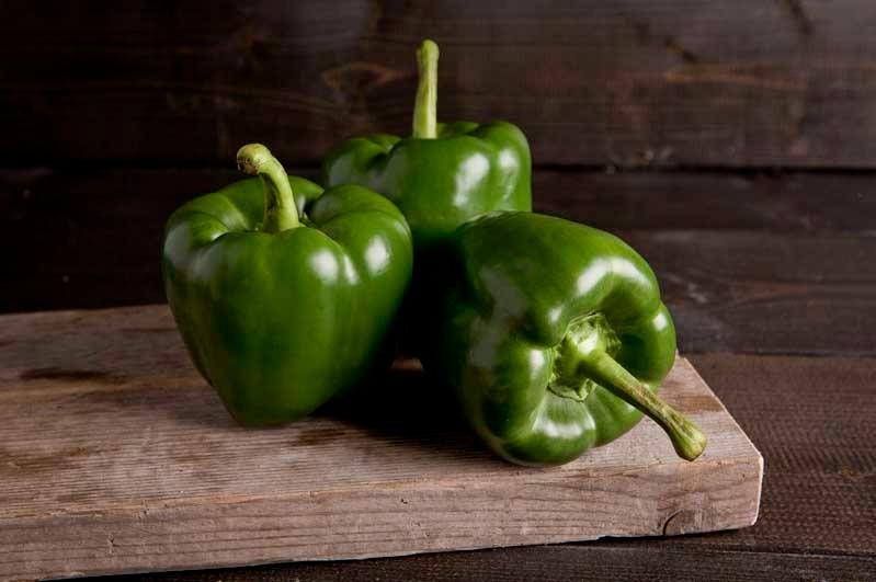 Paprika groen doos 5kg