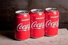 Coca Cola tray 24 x 330 cc blik