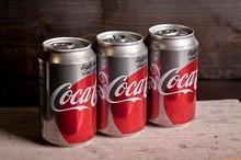 Coca Cola light tray 24 x 330 cc blik
