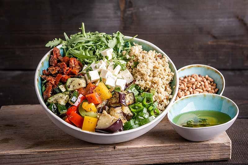 Couscous salade kom (tot 10 personen)