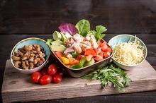 Groene salade met kip (bijgerecht) NIEUW