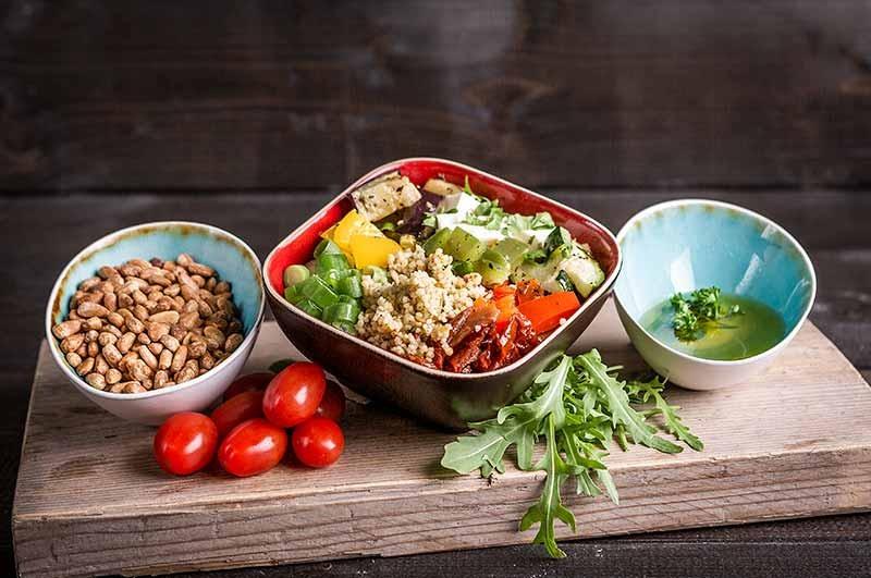 Couscous salade (klein 375cc)