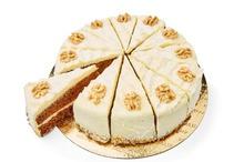Carrot cake taart 12 pnt (Holtkamp horeca)