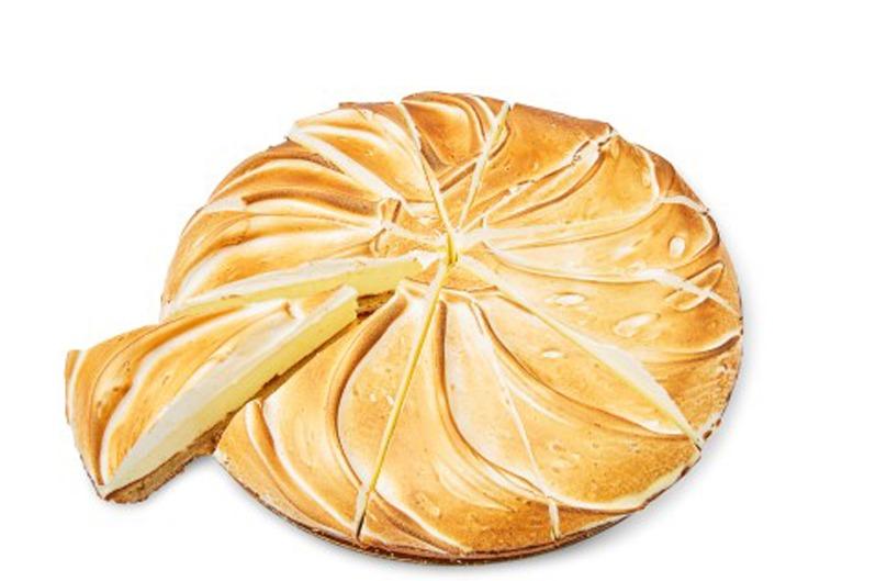 Citroen merenguetaart 14 pnt (Holtkamp horeca)