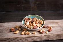 Gemengde noten assortiment gezout 500gr.