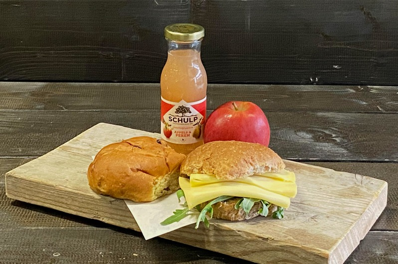 Lunchpakket Basis Vegetarisch