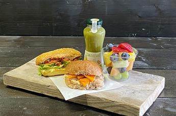 Lunchpakket Trendy Veganistisch