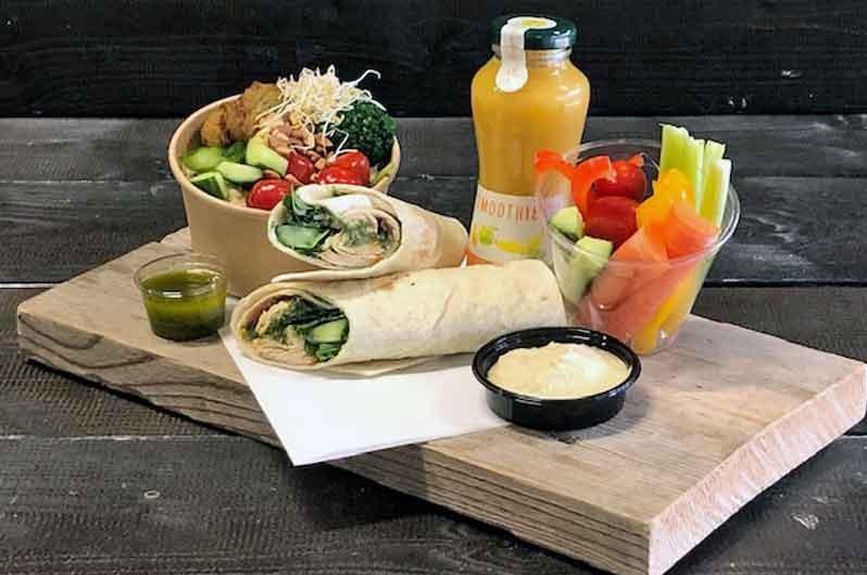 Lunchpakket de Luxe Vegetarisch