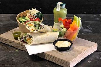 Lunchpakket de Luxe Veganistisch