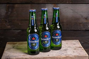Heineken 0.0 Alcohol vrij a 0,25ltr 6 st. (1x6-Pack)