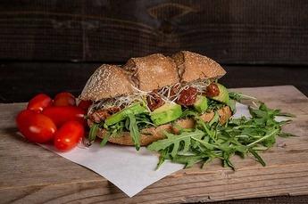 Extra Vegan broodje