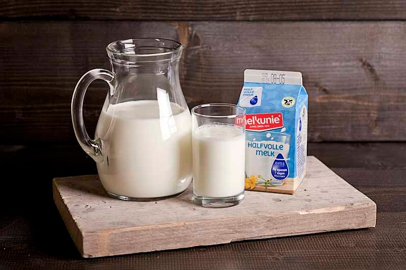 Halfvolle melk pakje 250 cc