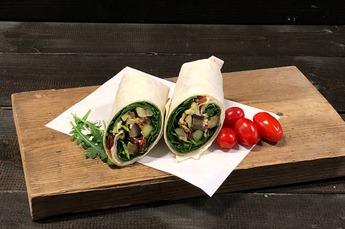 Wrap geroosterde groenten (Vega)