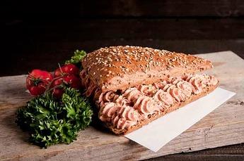 Broodje Saksische smeer-leverworst