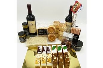 Kerst Borrel & Dessertbox 6 pers. (i.s.m. Holtkamp horeca)