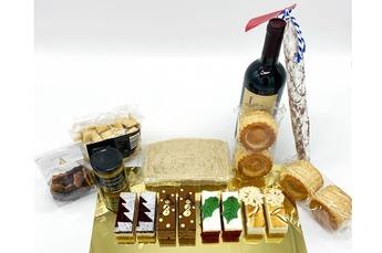 Kerst Borrel & Dessertbox 4 pers. (i.s.m. Holtkamp horeca)