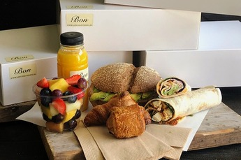 Thuiswerk lunch Luxe
