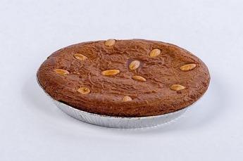 Gevuld speculaas-taart (18 cm)