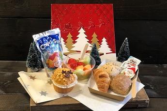 Kinder-Kerstontbijt/ lunch (met multivruchten sap)