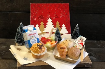 Kinder-Kerstontbijt/ lunch (met melk)