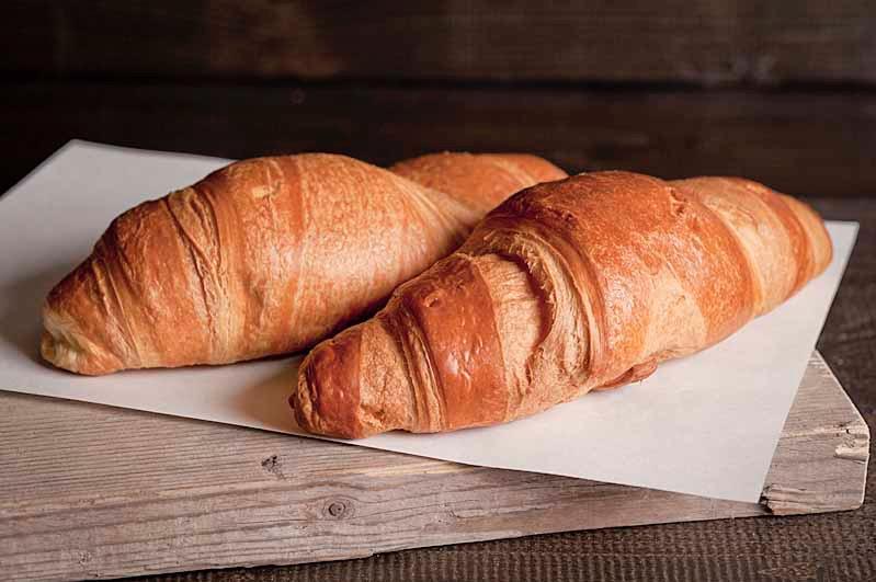 Croissant vers gebakken