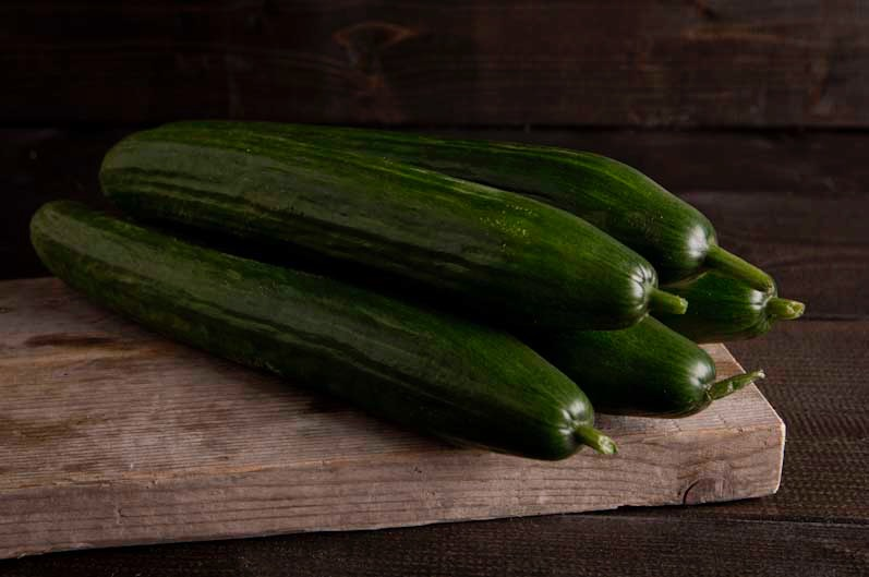 Komkommer kist/ doos (12st.)