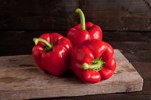 Paprika rood, klasse 1, per stuk