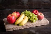 Fruitkrat, klasse 1, voor  5 personen