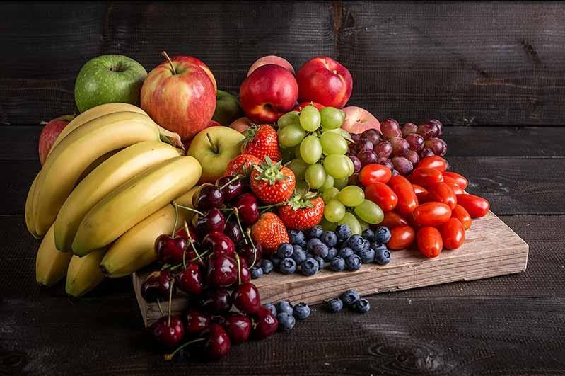 Fruitkrat, klasse 1, voor 20 personen