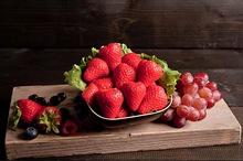 Vers gesneden aardbeien (375cc)