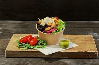 Griekse spinazie salade (Vega) 350cc