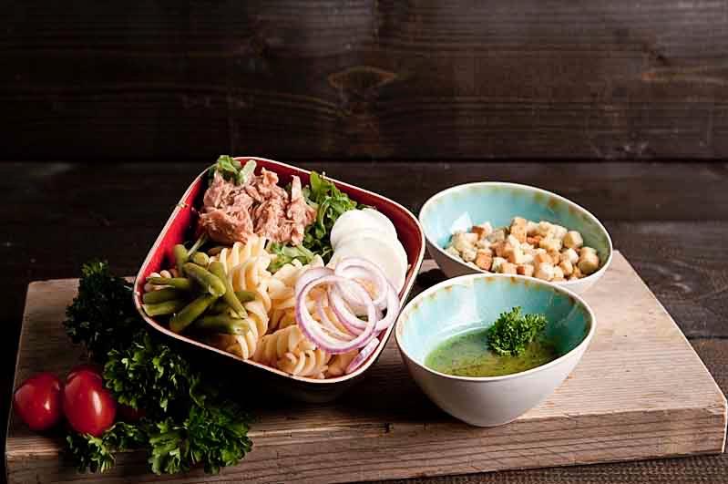 Pasta salade tonijn (bijgerecht)