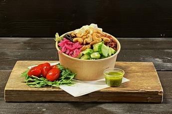 Griekse spinazie salade (Vega) 750cc