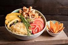 Nacho chicken salade (lunchgerecht)