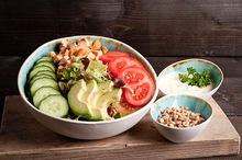 Gerookte kip salade (lunchgerecht)