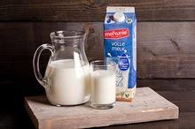 Volle melk 1,0 ltr