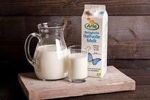Biologische halfvolle melk 1,0 ltr