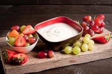 Bio-yoghurt met vers fruit (270cc)