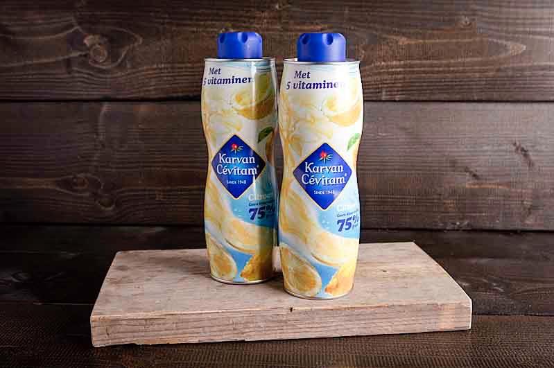 Karvan Cevitam limonade siroop citroen