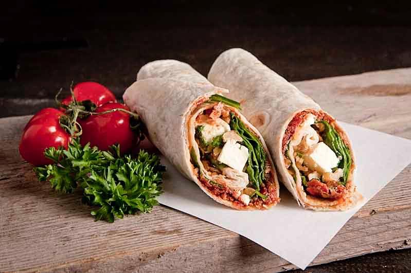 Wrap Feta/ Spinazie (Vega)
