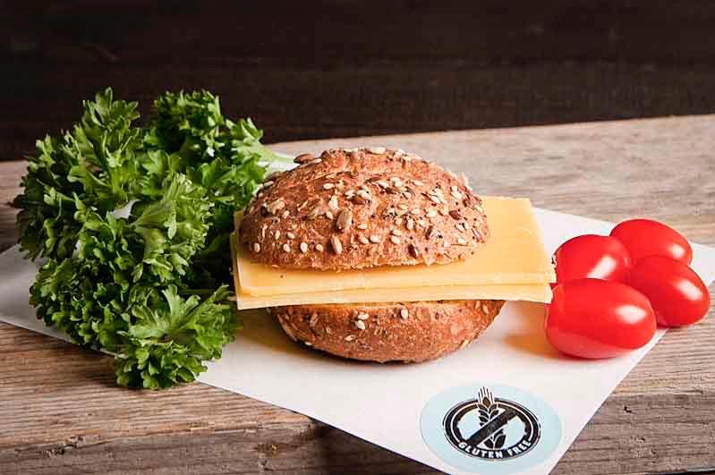 Glutenvrij broodje oude kaas