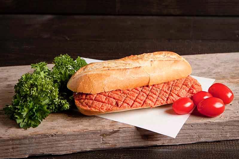 Lactosevrij broodje Huisgemaakte filet Am e rican