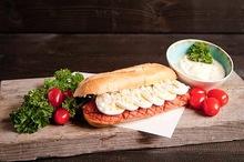 Lactosevrij broodje Huisgemaakte filet American speciaal
